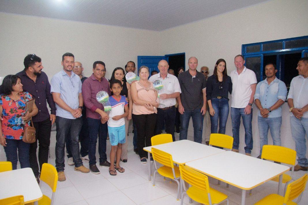 Inaugurada nova Escola na comunidade Rio Corrente